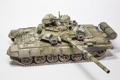 Russian T-90A | Unknown scale