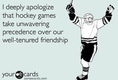 *lol* Most of my friends are right there with me cheering on the game!