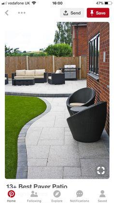 "Stunning Modern Patio Birch Granite Paving Contemporary Garden Garden Patio Designs Ideas Patio Garden Patio Garden Design 50 Gorgeous Outdoor Patio Design Ideas Back Garden Patio Designs Pdf Small Garden … Read More ""Garden And Patio Ideas"""