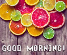 Good morning to you! #citrus #grapefruit #lemon #lime #orange #bergamot