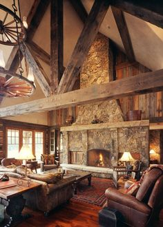 Here in Steamboat, we love bringing the outside in. Decorating a home with organic, Rocky mountain elements | Home On The Range, Steamboat Springs, CO
