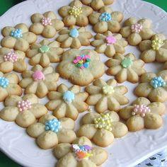 Polish Spritz Cookies Recipe - Ciasteczka z Maszynki - Recipe for Polish Cookie Press Cookies