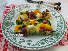 Aleda konyhája: Brokkolis tojáslepény