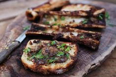 BBQ Bone Marrow on Sourdough