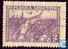 Stamps - Argentina [ARG] - March of the warriors 1930