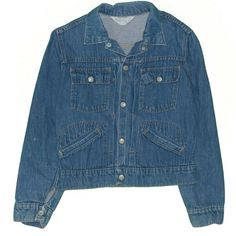 67ef5d51 Vintage 1970's Towncraft Toddler Kids Denim Trucker Jean Jacket Youth 10 # JCPenney #itisvintage Polo