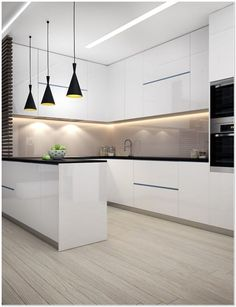 dream home Interior design ideas for a luxury kitchen decor. On this kitchen, you can see extraordinary furniture design pieces Luxury Kitchen Design, Kitchen Room Design, Kitchen Cabinet Design, Home Decor Kitchen, Interior Design Kitchen, Home Design, Kitchen Furniture, Home Kitchens, Kitchen Ideas