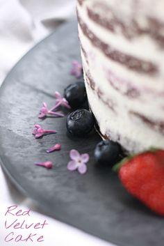 #redvelvetcake ❤ oder #rotersamtkuchen