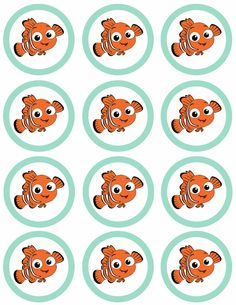 Free Finding Nemo tags printable! #findingnemo #findingdory #nemo