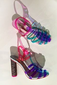 Shoes from Sophia Webster's Resort '14: perfect for the next 'must have' version of the jelly sandal! #JellyShoes
