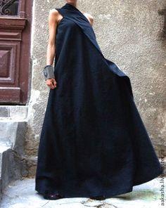 Платья ручной работы. Ярмарка Мастеров - ручная работа Сарафан Black Sand. Handmade.