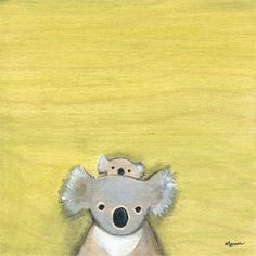 @rosenberryrooms is offering $20 OFF your purchase! Share the news and save!  Hello Koala Canvas Wall Art #rosenberryrooms