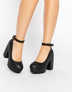 Daisy Street - Darcy - Chaussures épaisses - Noir ♥ pin be crazy sana