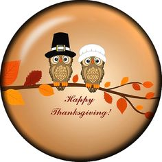 Snap button Owl Fall Happy Thanksgiving 18mm charm chunk >>> Check this awesome item by going to the link at the image.