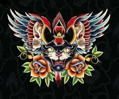 ed hardy images - Google Search Ed Hardy Tattoos, Panther, Christian  Audigier, Tattoo 17ac2077be