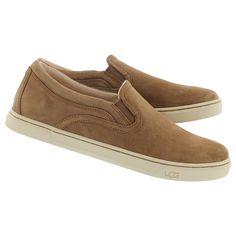 Uggs Fierce chestnut slip on loafer