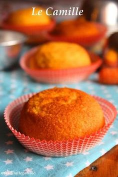 Camille: tiny and soft carrot cakes. Sweet Recipes, Cake Recipes, Dessert Recipes, Italian Desserts, Italian Recipes, Cake & Co, Food Displays, Sweet Bread, Cooking Time