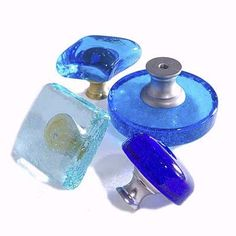 recycled glass pulls