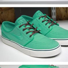 Crystal mint Stephan janoski's.