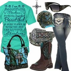 I Am A Beautiful Disaster Camo Cutie Hat Outfit - Real Country Ladies Country Western Outfits, Cowgirl Style Outfits, Country Style Outfits, Country Fashion, Outfits With Hats, Sporty Outfits, Hot Outfits, Teen Fashion Outfits, Cute Casual Outfits