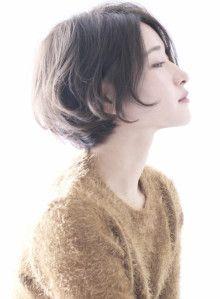 大人シルエットショート 髪型・ヘアスタイル・ヘアカタログ ビューティーナビ