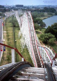 Judge Roy Scream. Six Flags Over Texas, Arlington.