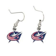 Columbus Blue Jackets Dangle Earrings