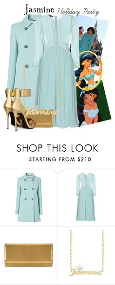 """""""Jasmine -- holiday party"""" by evil-laugh ❤ liked on Polyvore featuring L.K.Bennett, Disney, Burberry, MICHAEL Michael Kors and Giuseppe Zanotti"""