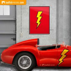 Made as a tribute to The Flash, a DC Comics superhero, this is an electrifying poster illustrated in a cool comic book style. Comic Book Style, Comic Books, The Flash Poster, Dc Comics Superheroes, Blog, Blogging, Comic Book, Comics
