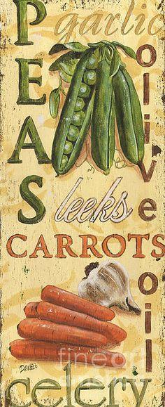 Pea Soup Poster by Debbie DeWitt