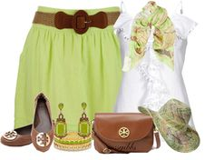 "Farb- und Stilberatung mit http://www.farben-reich.com/ ""Tory Burch Flats & Bag"" by mssgibbs ❤ liked on Polyvore"