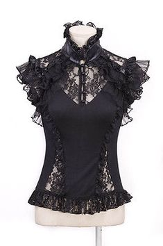 cf5282bbe1f08 13 Best Shirts images in 2018 | Gothic clothing, Gothic outfits ...