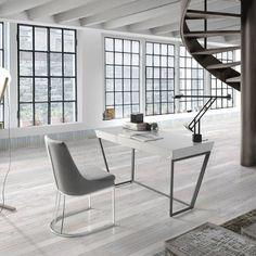 DESPACHOS Y OFICINAS : Estudios y despachos de estilo minimalista de Muebles Flores Torreblanca