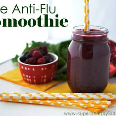 The Anti-Flu Super Smoothie for Kids