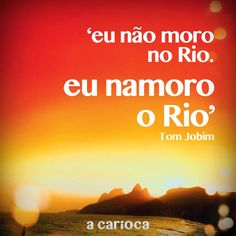 I fall in love with Rio Quotes And Notes, Words Quotes, I Fall In Love, Falling In Love, Literature, Inspirational Quotes, Learning, Pictures, Life