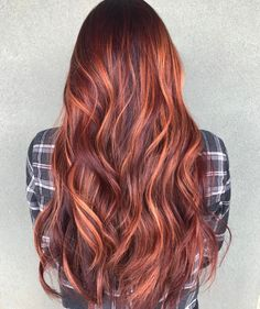 "Hair Colour Copper Red #2 - Ashleigh Nichols (@mane.therapy) on IG: ""️*Individual results will vary and may require…"""