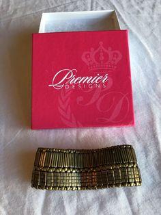 Premier Designs Comfy Cozy Bracelet New! Free Priority Shipping! #PremierDesigns #Stretch
