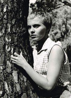 jean seberg in bonjour tristesse, 1958.