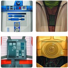 Join Vader, Han, Leia And More For Dinner With These 'Star Wars' Plate Sets