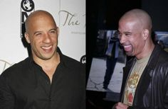 Vin and Paul Diesel, Vin's twin brother