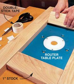 Tempted by a router table but hesitate to take the plunge because of the hassles involved in mounting the plate? Here's how it's done.