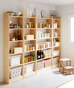 ¿Sin hueco en la despensa? Mira cómo organizar todo tu espacio  #idea