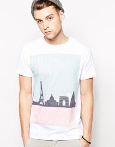 New+Look+T-Shirt+with+Paris+Print $19.02