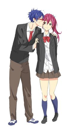 Rei and Gou I don't ship them, but this is cute @W@