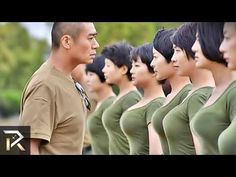 20 beautiful military women who look amazing with or without their uniform on. - uniform the pin Fierce Women, Military Girl, Female Soldier, Military Women, Navy Seals, North Korea, Action Movies, 18 Movies, Confessions
