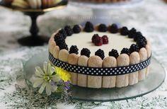 ทำครั้งแรก สำหรับห่อ Honey and Lavender Opera Cake ค่ะ … พอดีทำส่วนมูส ออกมาไม่ดี เลยทำเลดี้ฟิงเกอร์ - ดรรชนีนาง ปิด อิอิ ... Charlotte Cake, Types Of Desserts, Stale Bread, Fruit Puree, Icebox Cake, Biscuit Cookies, Sponge Cake, Trifle, Gelatin