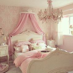 Imagem de pink, room, and bedroom