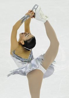 Mao Asada of Japan performs her routine in the Ladies Free Skating program during the Cup of China, the third event on the ISU Grand Prix figure skating tour, in Shanghai on November 3, 2012.