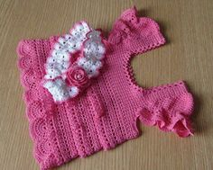 Croche pro Drink: Little dresses found the net, pure inspiration ....