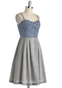 Tic-Tac-Flow Dress | Mod Retro Vintage Dresses | ModCloth.com